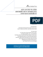 Water Distribution Modelling