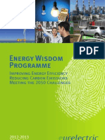 The EURELECTRIC Energy Wisdom Programme (EWP)