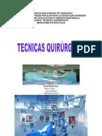 Tecnicas Quirurgicas Trabajo Final !!