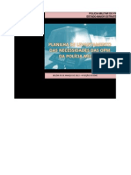 PLANILHA DE NECESSIDADES DA 6ªCIPM - 2012