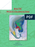 Baltic Postcolonialism__On the Boundary of Two Worlds__Identity Freedom and Moral Imagination in the Baltics