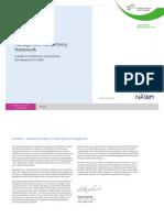 SBM Competency Framework
