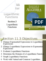 Seia2e_1103 Chapter 11. Exponential and Logarithmic Functions
