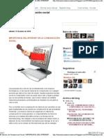 El Internet y la Comunicaciòn Social_ IMPORTANCIA DEL INTERNET EN LA COMUNICACIÓN SOCIAL