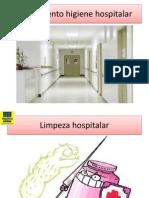 Treinamento higiene hospitalar