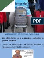 MEDICO QUIRURGICO #1 Qué son los AlterACIONES DEL SISTEMA ENDOCRINO(DIABETES)