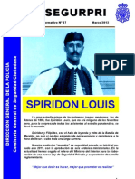 Boletín UCSP Segurpri nº 37: Spiridon Louis