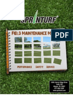 Sprinturf Maintenance Manual 2009[1]