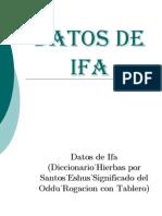34669871 Datos de Ifa Diccionario Hierbas Eshus