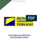 COLETÂNEA DE EXERCÍCIOS DE RACIOCÍNIO LÓGICO MATEMÁTICO