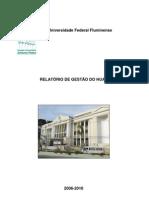 Relatório de Gestão - 2006-2010
