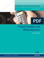 Prepaid Strategies and Mini Mi Sing Churn