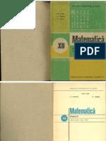 Mat Algebra Xii