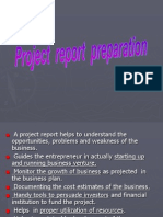 Project Report Preparation.