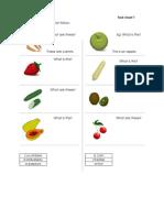 Veg n Fruit Wrksheet2