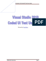 Visual Studio 2010 Coded UI Test Basic User Guide