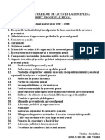 Drept Procesual Penal- Poiana
