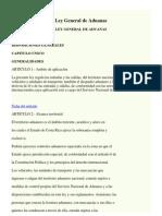 LEY DE ADUANAS