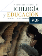 Revista - Revista Intercontinental de Psicologia y Educación Vol 13 num 2