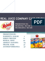 Real Juice Company Case Study