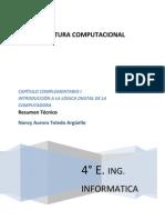 (Capítulo complementario I) Resumen Tecnico