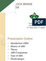 Anty Lock Braking System (for Seminar)