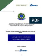 Manual SICAFweb Unidade Cadastradora