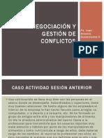 Negociación y gestión de conflictos