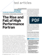 The Rise and Fall of High Performance Fortran