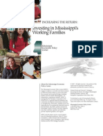 Investing in Working Families in Mississippi