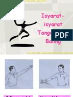 Handball - Isyarat-Isyarat Tangan Bola Baling