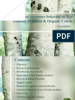 Ideal Consumer Behavior on Eco Friendly Products & - Copy