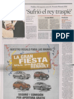 Javier Moro en el periódico Reforma