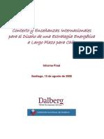 Diseño de una Estrategia Energética para Chile Contexto y Enseñanzas Internacionales