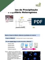 1.2_UFCD7_Apresentacao_Reacções de Precipitacao e Equilibrio Heterogeneo