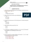 Geometria Analitica y a
