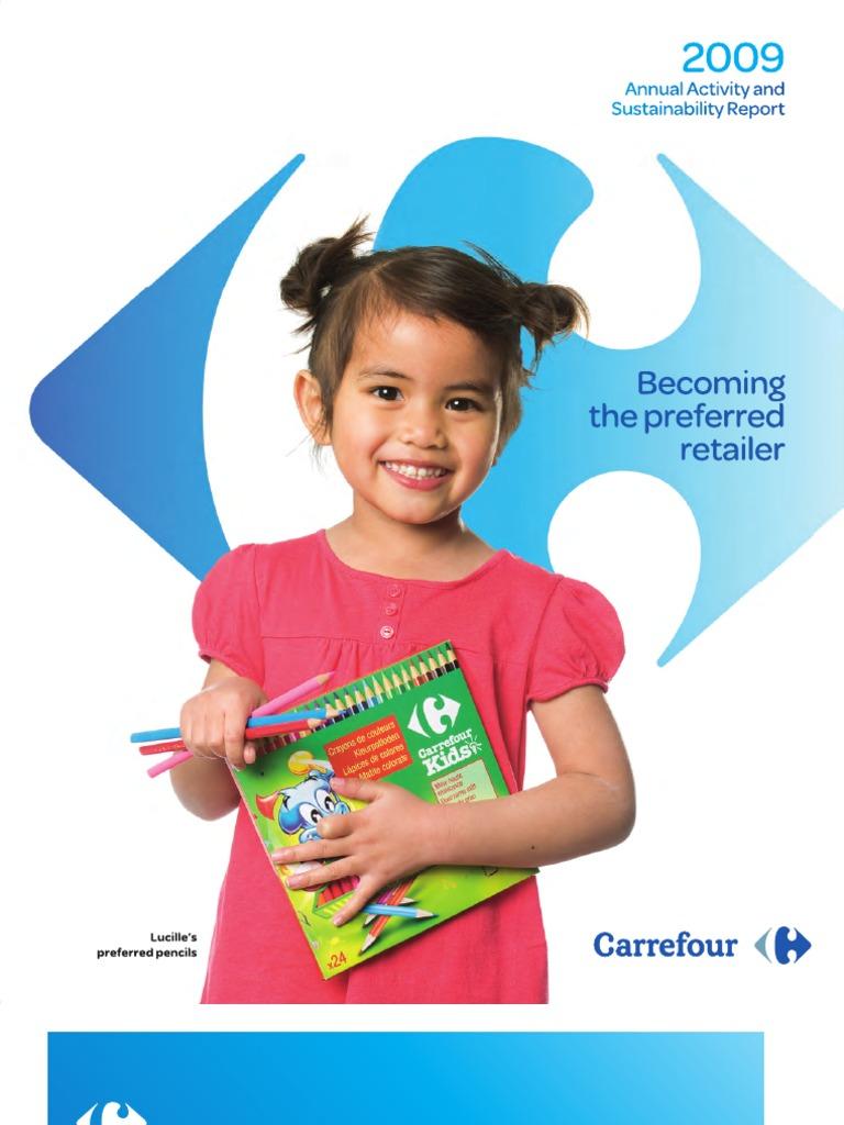 Carrefour 2009 Annual Report  c77a9e815fe9