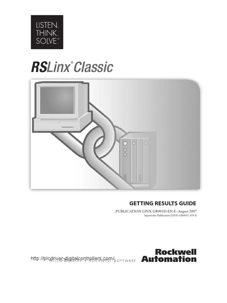rslinx oem key activation