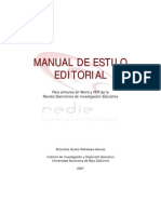 Manual de Estilo Editorial