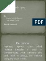 Reported Speech Tec III