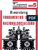 Fundamentos del Nacionalsocialismo. Rosenberg