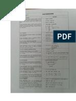 Fórmulas para resolver ejercicios de límites