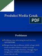 Produksi Media Cetak
