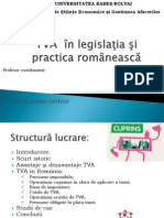 TVA in Romania