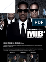 MIB 3 Hombres de Negro 3 - Revista Cinerama