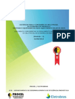 Criterios Especificos Para Coletores e Reservatorios Termicos-2011