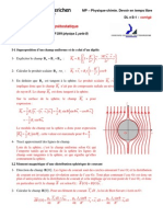 Dl2 1 Magnetostatique _ccp Mp 2004 Corrige