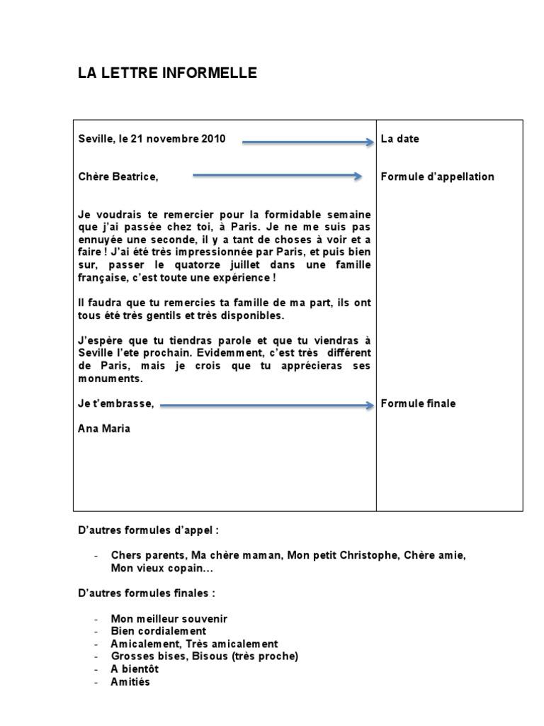 La Lettre Informelle