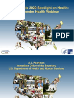 Transgender Health Webinar_Healthy People 2020_For Audience