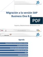 Migración SAP B1 8.8